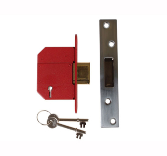 UNION 5 Lever Strongbolt Mortice Dead Locks - 2100S