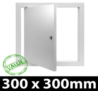 Value Metal Access Panel - Slotted Lock - 300x300mm Picture Frame