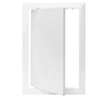 Value Hinged Plastic Access Panel - 150 x 300 mm