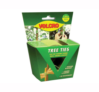 Velcro Adjustable Tree Ties 50mm x 5m Green - 50mm x 5m Green