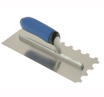 Vitrex 10 2906 Professional Stainless Steel Adhesive Trowel 20mm