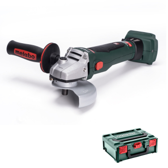 Metabo W18LTX115 18v 115mm Angle Grinder - Bare Unit with MetaBOX - 602170840