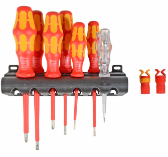 Wera XMS18VDESET VDE Screwdriver Set with Grippers