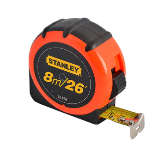 Stanley XMS17TAPE8 Hi-Vis Tape Measure 8m/26ft