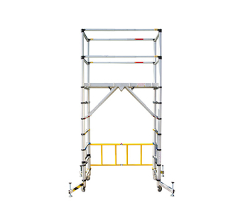 Zarges Aluminium Teletower With Toe Boards
