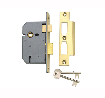 Yale Locks 3 Lever Mortice Sash Locks - PM320