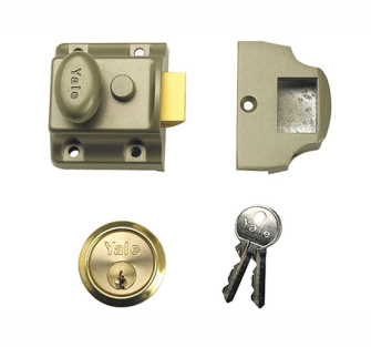 Yale Locks 706 Traditional Nightlatch PB 40mm Backset Box - 63070