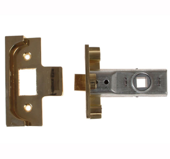 Yale Locks M999 Rebated Tubular Mortice Latches - 76mm 3in Brass