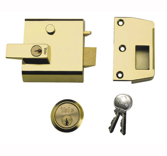 Yale Locks P1 Double Security Nightlatches 60mm Backset