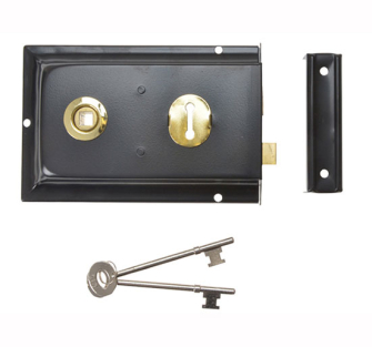 Yale Locks P334 Rim Locks 156 x 104mm