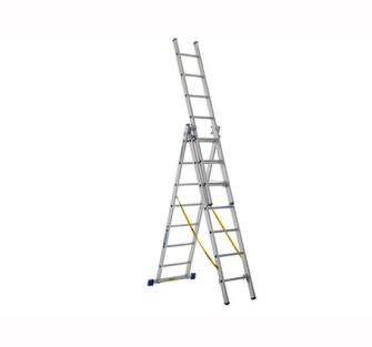 Zarges Skymaster Trade Ladders 3-Part - 3 Part 3 x 7 Rungs