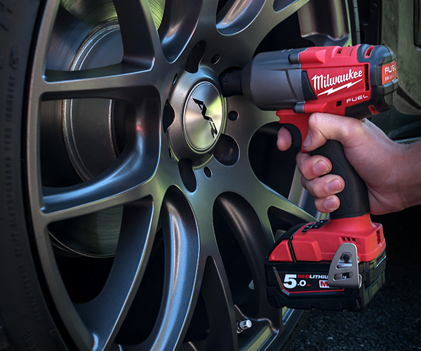 Cordless Impact Wrenches - Milwaukee M18FMTIWF12 is Pictured