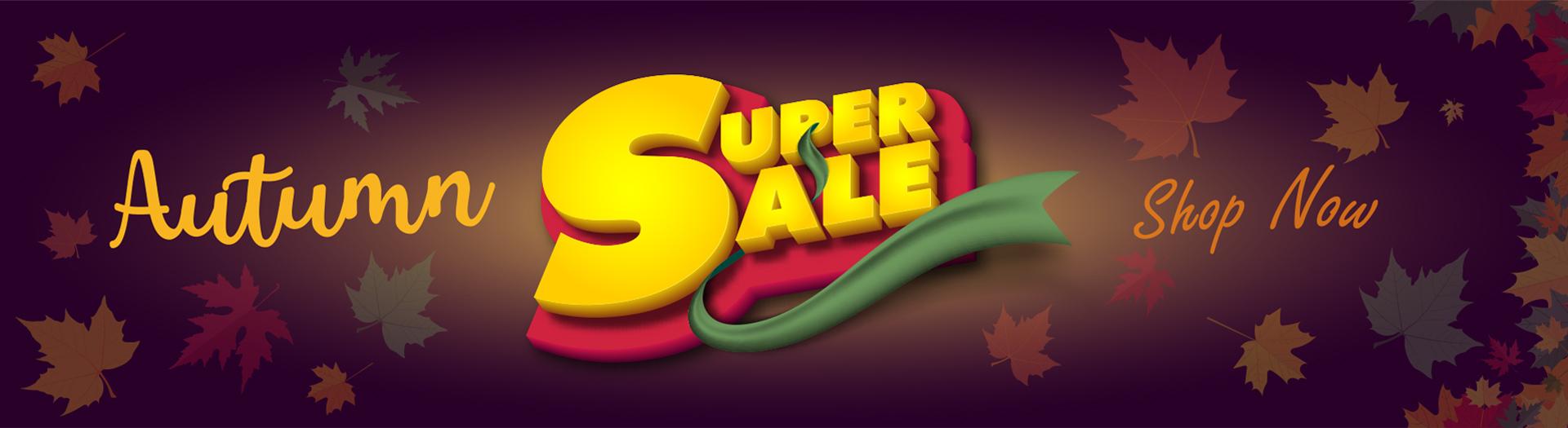 Autumn Super Sale