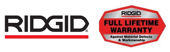 Ridgid Tools - Lifetime Warranty